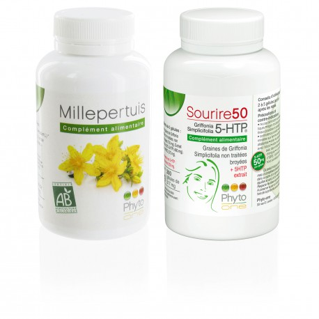 Millepertuis + Griffonia (5-HTP)