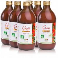 6 Jus de Goji Premium BIO