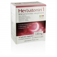 Herbatonin 1 (1,00 mg) - Mélatonine végétale (DLUO : 05/2021)