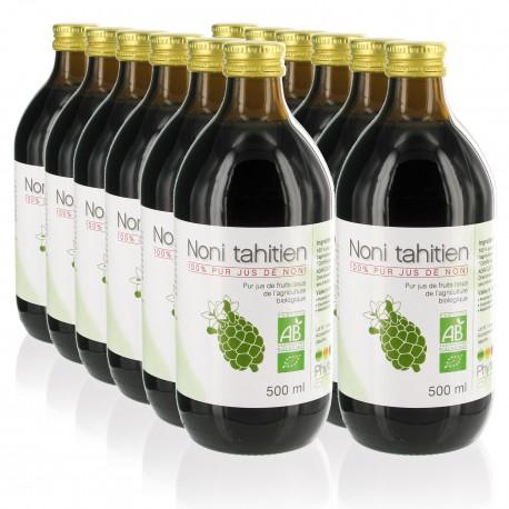 12 Jus de Noni tahitien Bio
