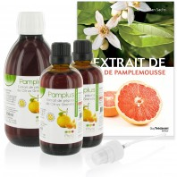 Pack Pamplus (EPP) : 1x250 ml + 2x100ml + spray + livre
