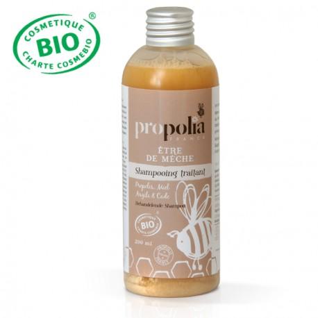Shampoing traitant Bio Shampooing Traitant - Propolia • Flacon de 200 ml, • Propolis, Miel, Argile et Cade • 100 % des ingrédie