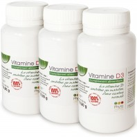 3 Vitamine D3 - 25 µg (Cholécalciférol d'origine naturelle)