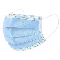 2 boîtes de 50 Masques Chirurgicaux 3 plis CE EN 149