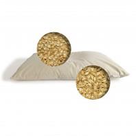 Oreiller cervical Bio Bicouche Billy 40x60 : Millet et Épeautre