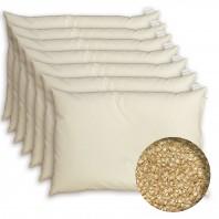 7 x 1 Oreiller cervical à la Balle de Millet BIO - Housse coton BIO - Depuis 1994