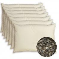 7 x 1 Oreiller cervical au sarrasin BIO (Blé noir) - Housse coton BIO - Depuis 1994