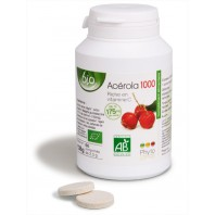 Acérola 1000 Bio - Vitamine C - 60 comp.