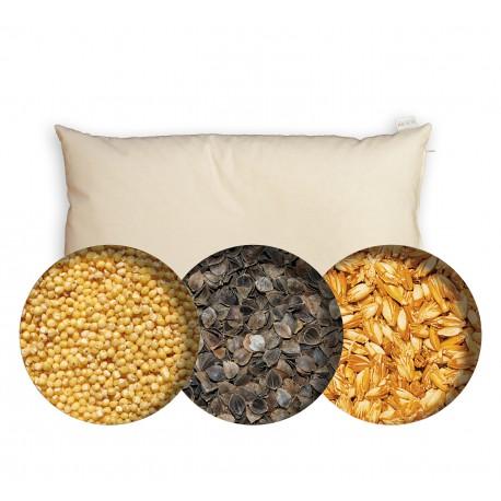 Pack P4 : 1 épeautre + 3 sarrasin + 3 millet