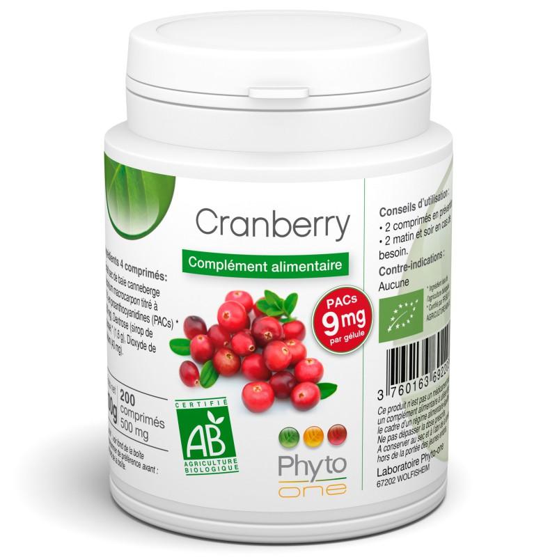 Bien connu Cranberry (canneberge) SD75