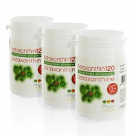 3 Astaxanthin120 (naturelle - 12 mg/gélule)