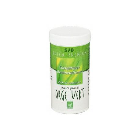 Orge vert Bio (jeunes pousses)